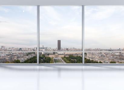 výhľad cez čisté okná