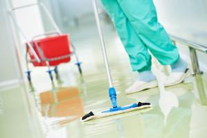 Tryskání průmyslových podlah