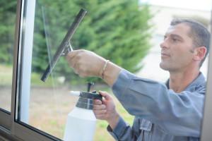 mytí oken zvenčí