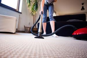 čištění koberců v domácnostech