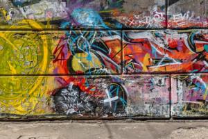 GRAFFITI NA BETONU