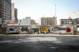 Město s graffiti