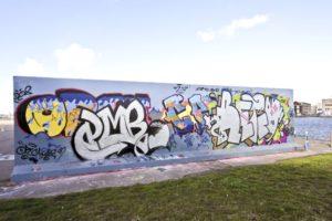 graffiti na veřejných místech