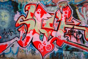 graffiti na odstranění