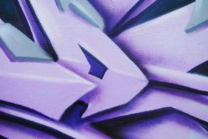 abstraktní graffiti