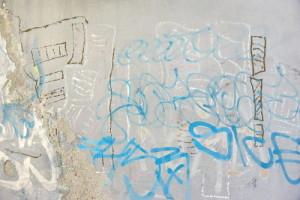 nemoderní graffiti