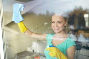 leštění oken v domácnostech
