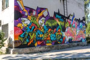 Grafitti ve městech