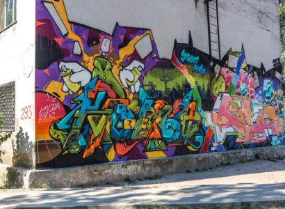 Grafitti v Petržalke