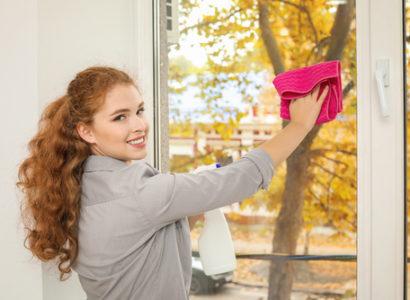 Okna Třebíč, mytí