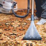 čištění koberců v bytě
