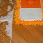 Voskování, čištění linolea