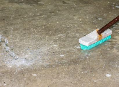 Impregnace, mytí podlah