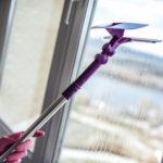 Okna, výškové mytí Brno