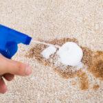 Jak vyčistit skvrny na koberci