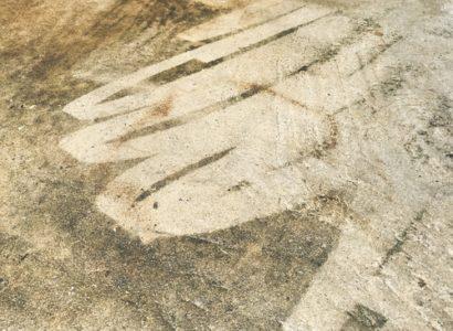 betonových podlah mytím
